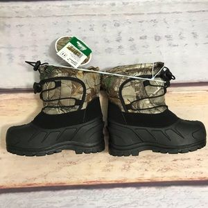 """Realtree Snow / Rain Boots """"NWT"""" Toddler Size 11"""